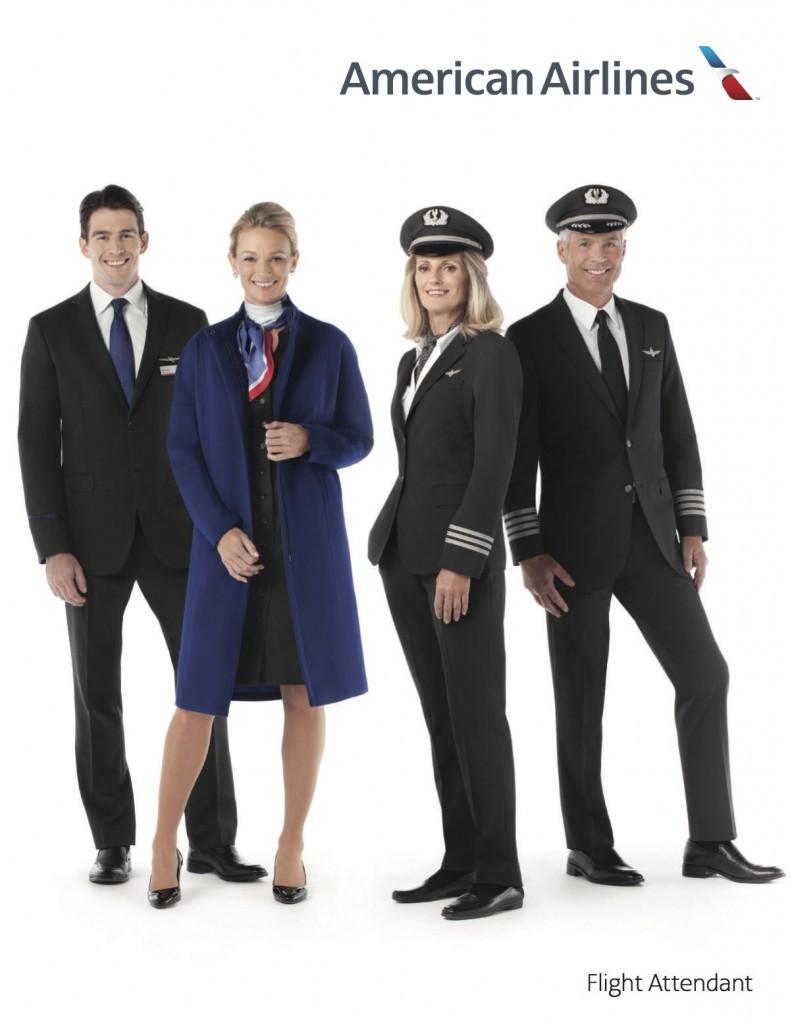 American airlines flight attendant uniforms photo Amanda Thompson