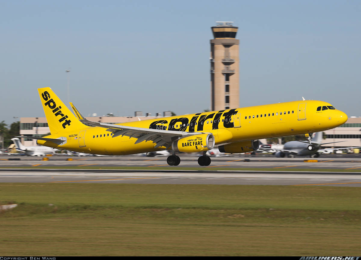 #1 airline in the US for complaints is…Spirit