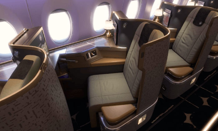 China Airlines Reveals A350 Interior