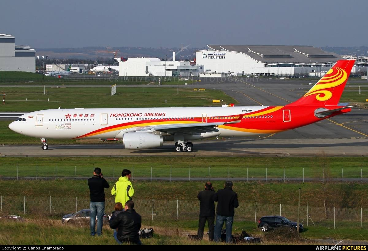 Maintenance drops engine of Hong Kong Airlines A330