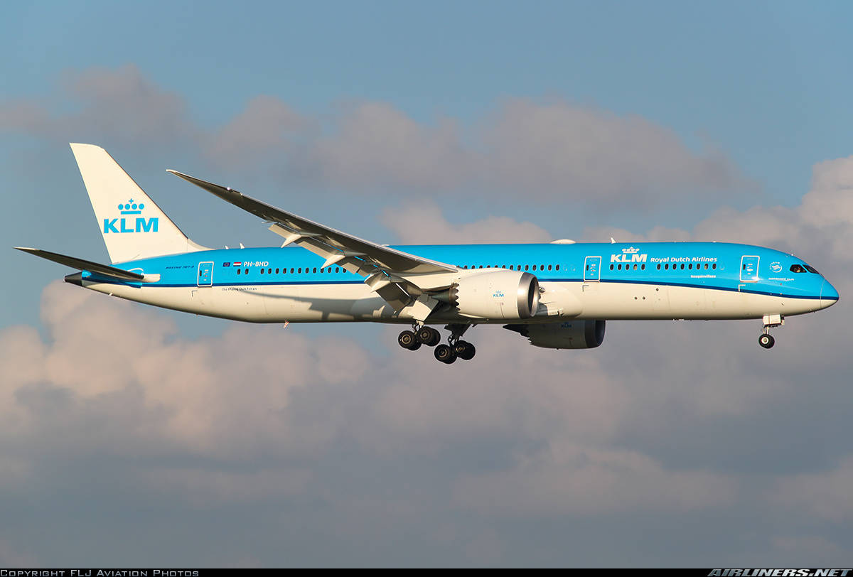 image gallery klm 787 colombo
