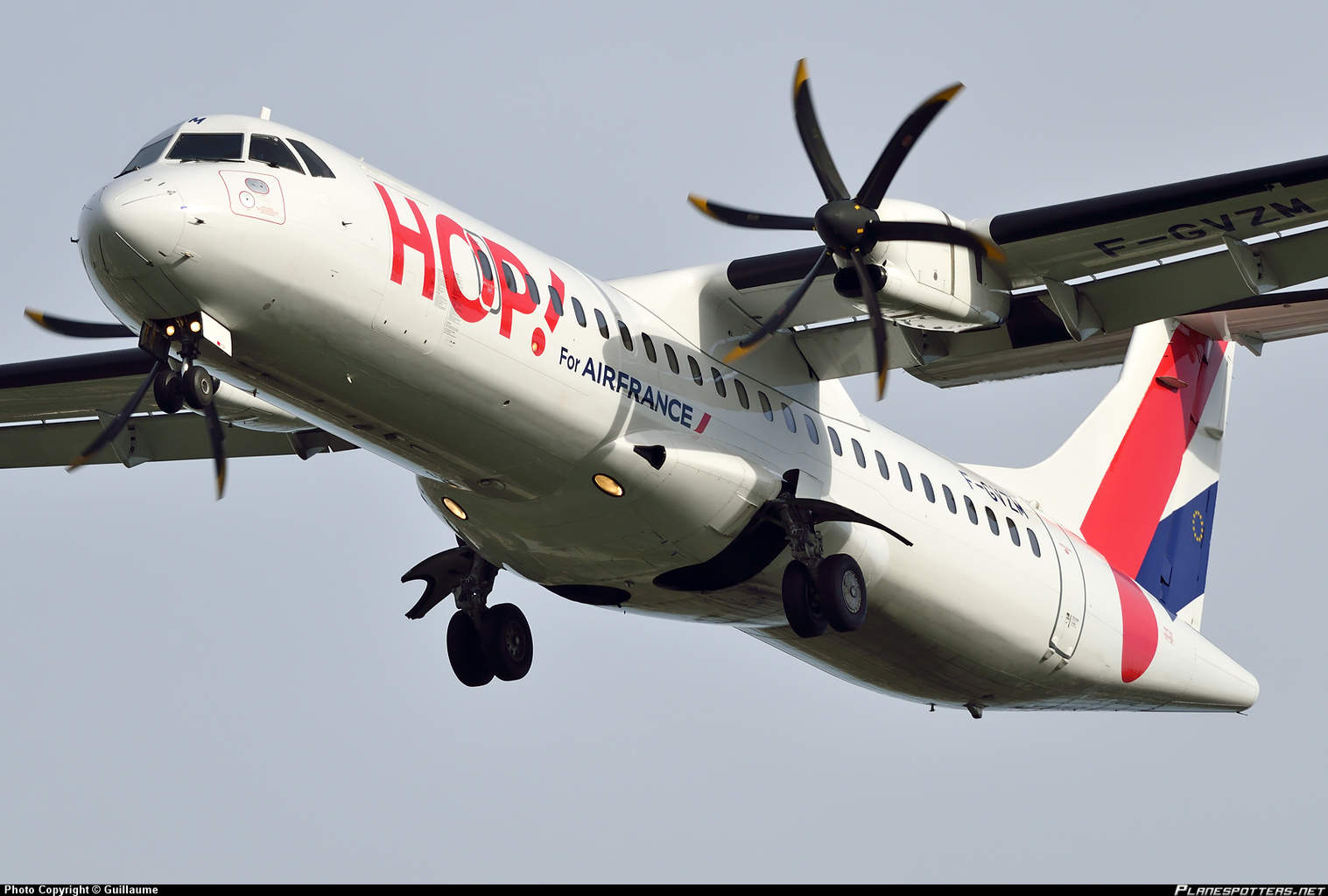HOP! For Air France (operated by Airlinair) ATR72 has malfunctioning weather radar