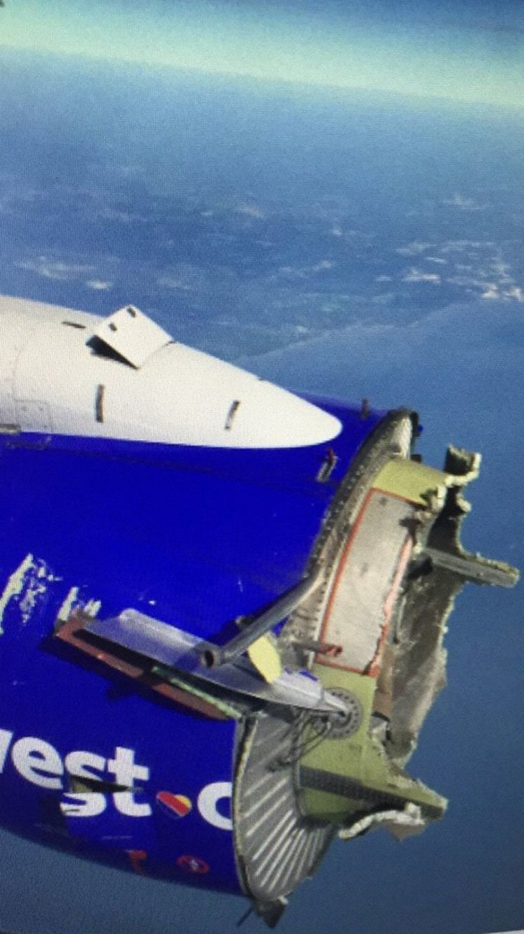 Southwest Airlines flight 3472 suffers uncontained engine failure