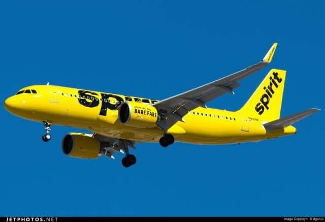 Lower profits at Spirit Airlines for 2016