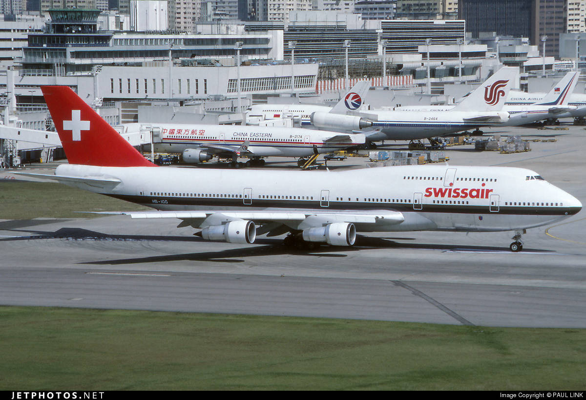 Throwback Thursday with Swissair