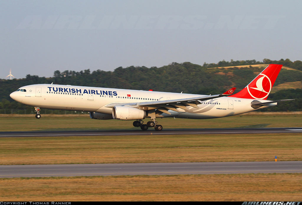 Turkish Airlines flight TK2 diverted to YHZ over bomb threat