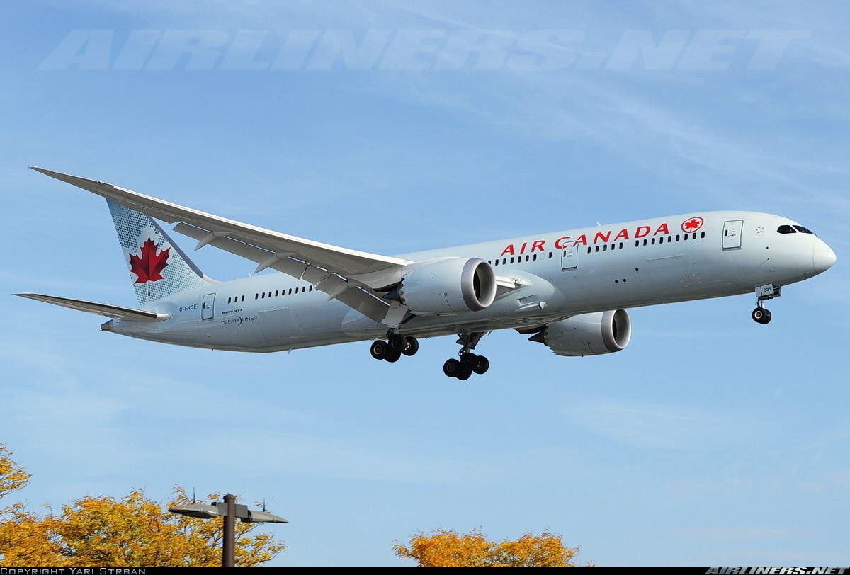 Air Canada flight returns to Pearson because of unruly passenger