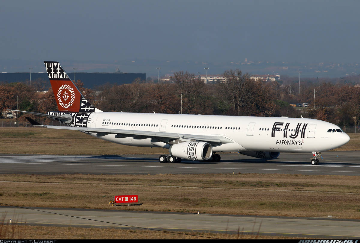 Fiji Airways gets first Airbus A330-300