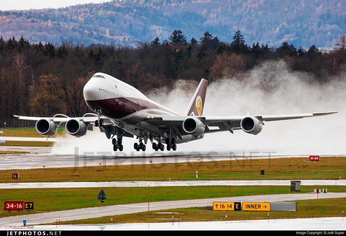 Qatar Amiri Flight lands 9 planes at Zurich during night time ban