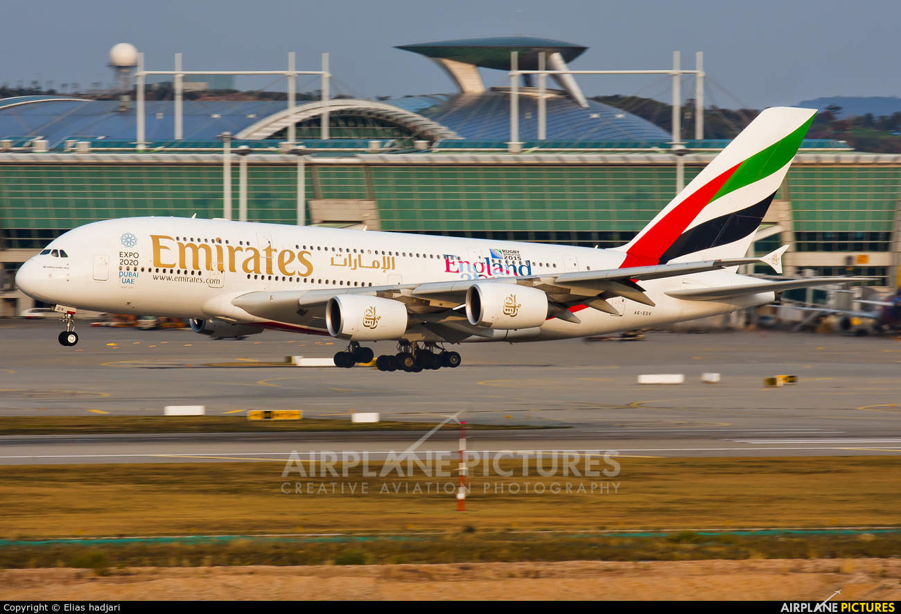 Emirates going double daily A380 to Schiphol
