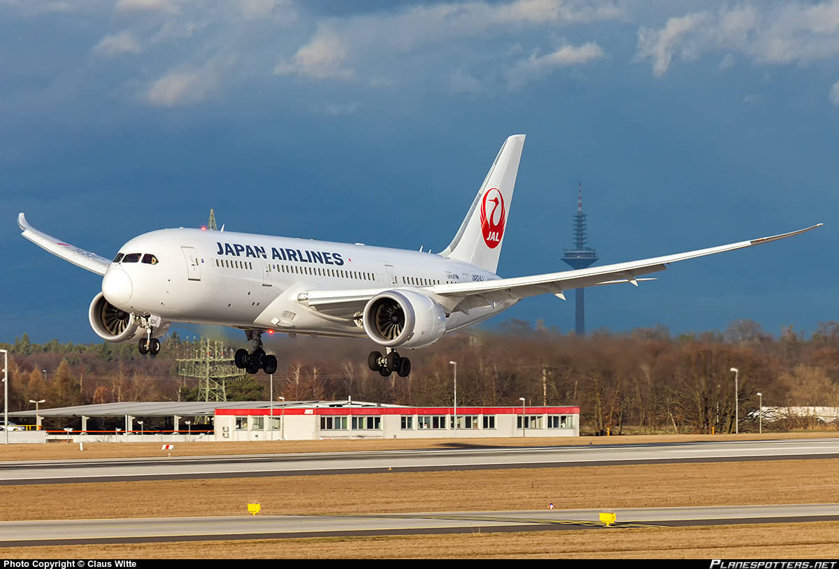 JAL-Japan Airlines suspends Narita-Paris flight