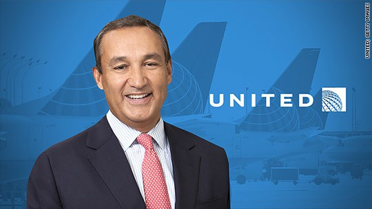Oscar Munoz, United Airlines CEO, has heart transplant