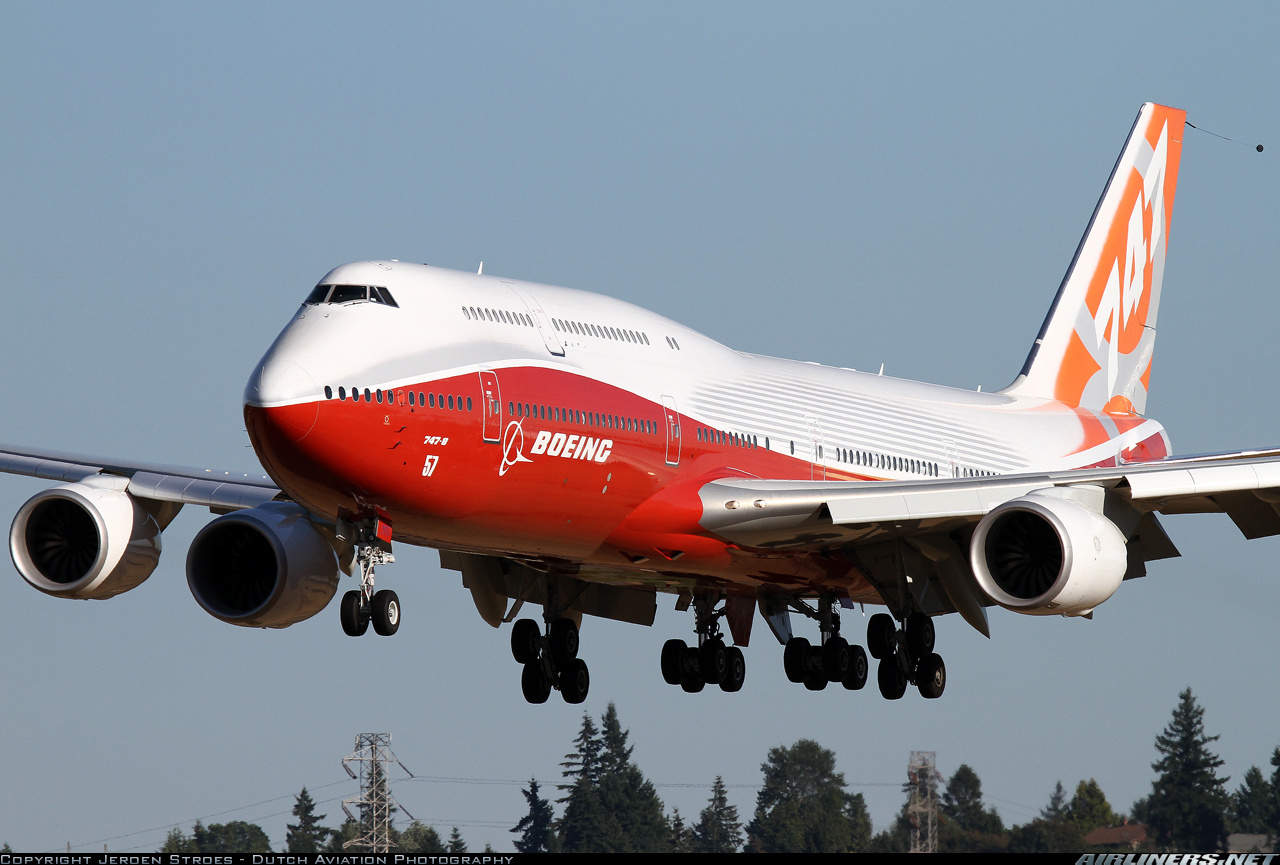 Boeing slows down 747-8 production rate