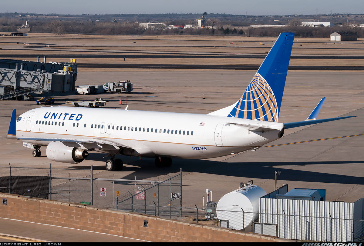 United Airlines flight 812 slides off taxiway