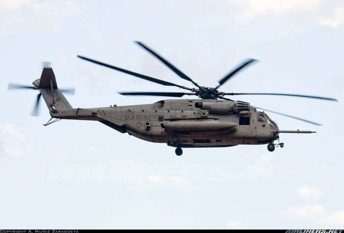 Two CH-53s collide off the Hawaiian coast, 12 Marines feared dead