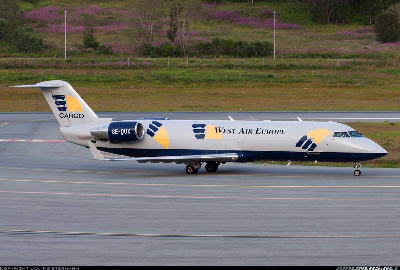 West Atlantic Airlines CRJ-200 crashes