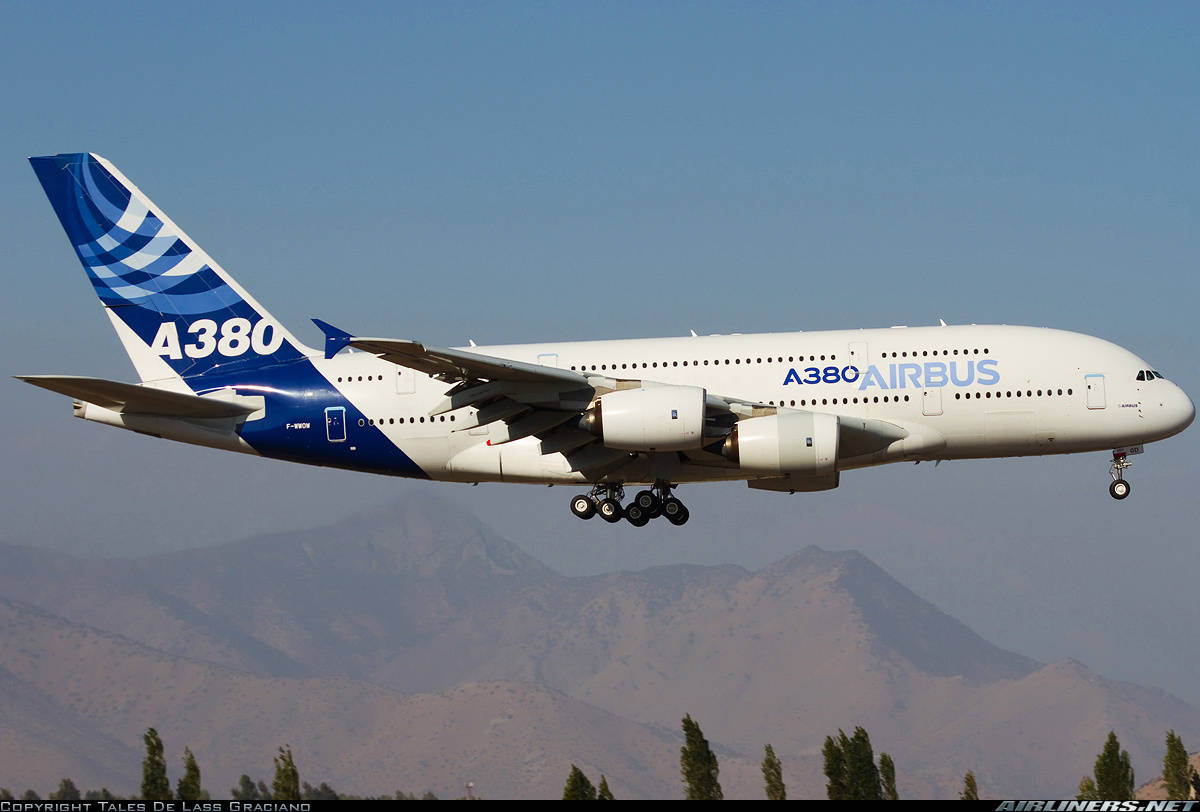 Iran looking into 16x A350XWB and 8x A380