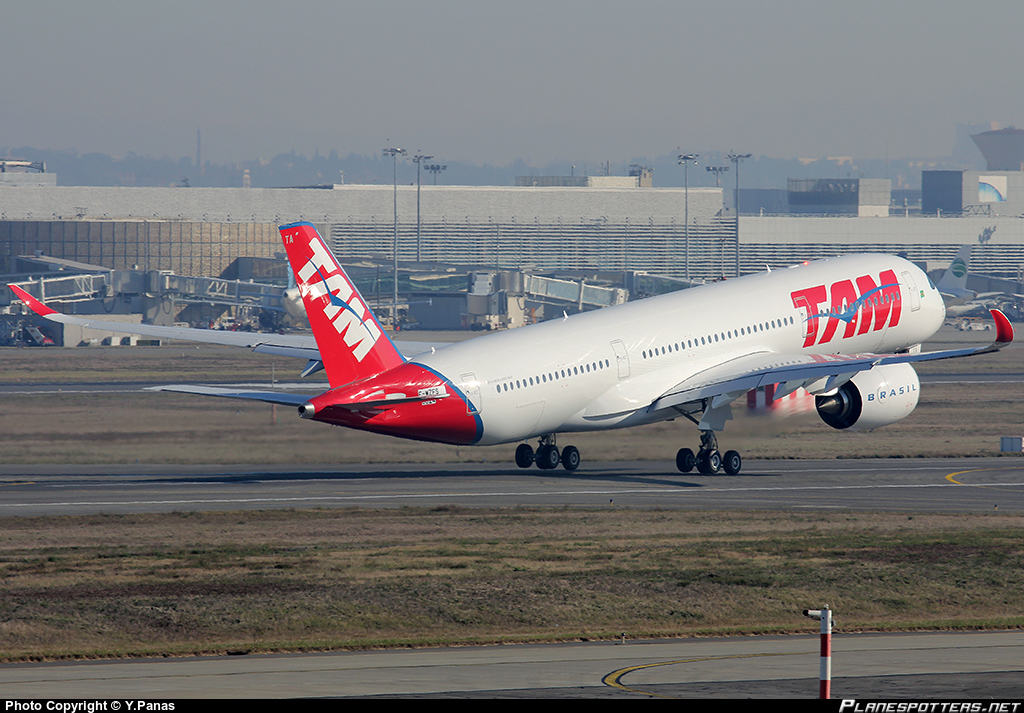 TAM Linhas Aéreas to send A350 to Orlando and New-York