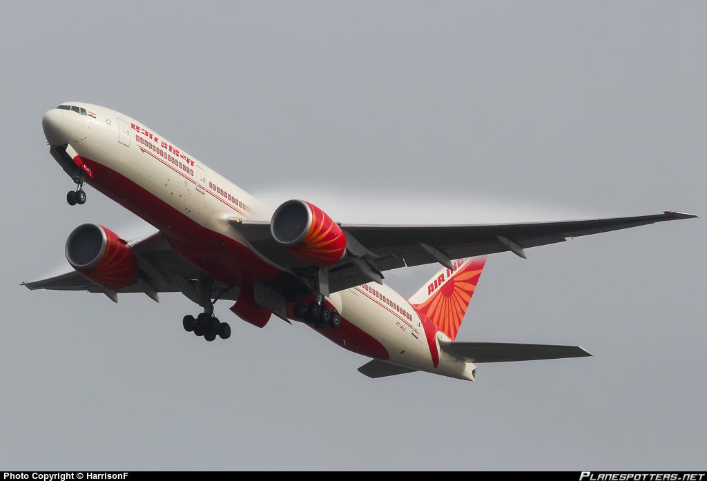 Air India removes First Class from 77L fleet