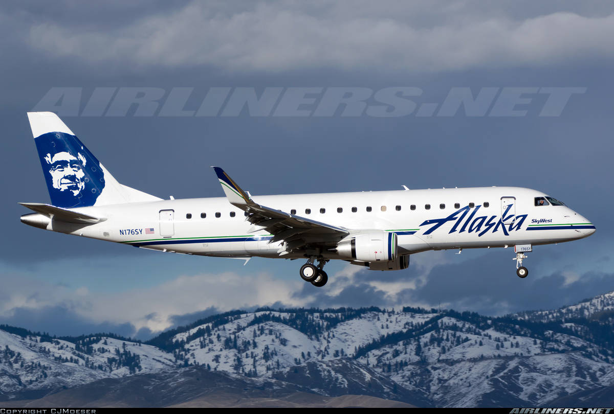 Alaska Airlines getting closer to signing an order with Embraer