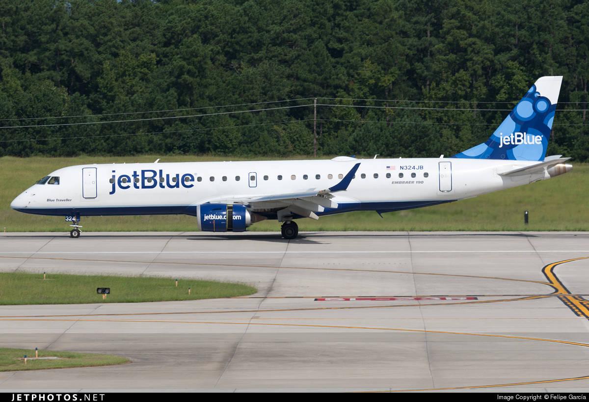 jetBlue E-190 gets struck by fuel van at Boston Logan