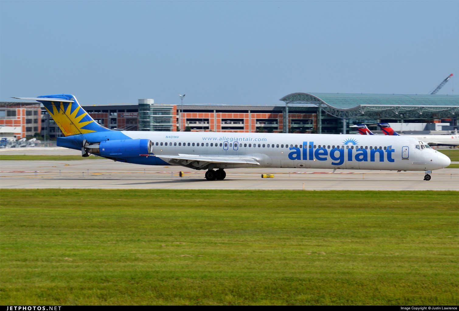 Allegiant flight aborts take-off