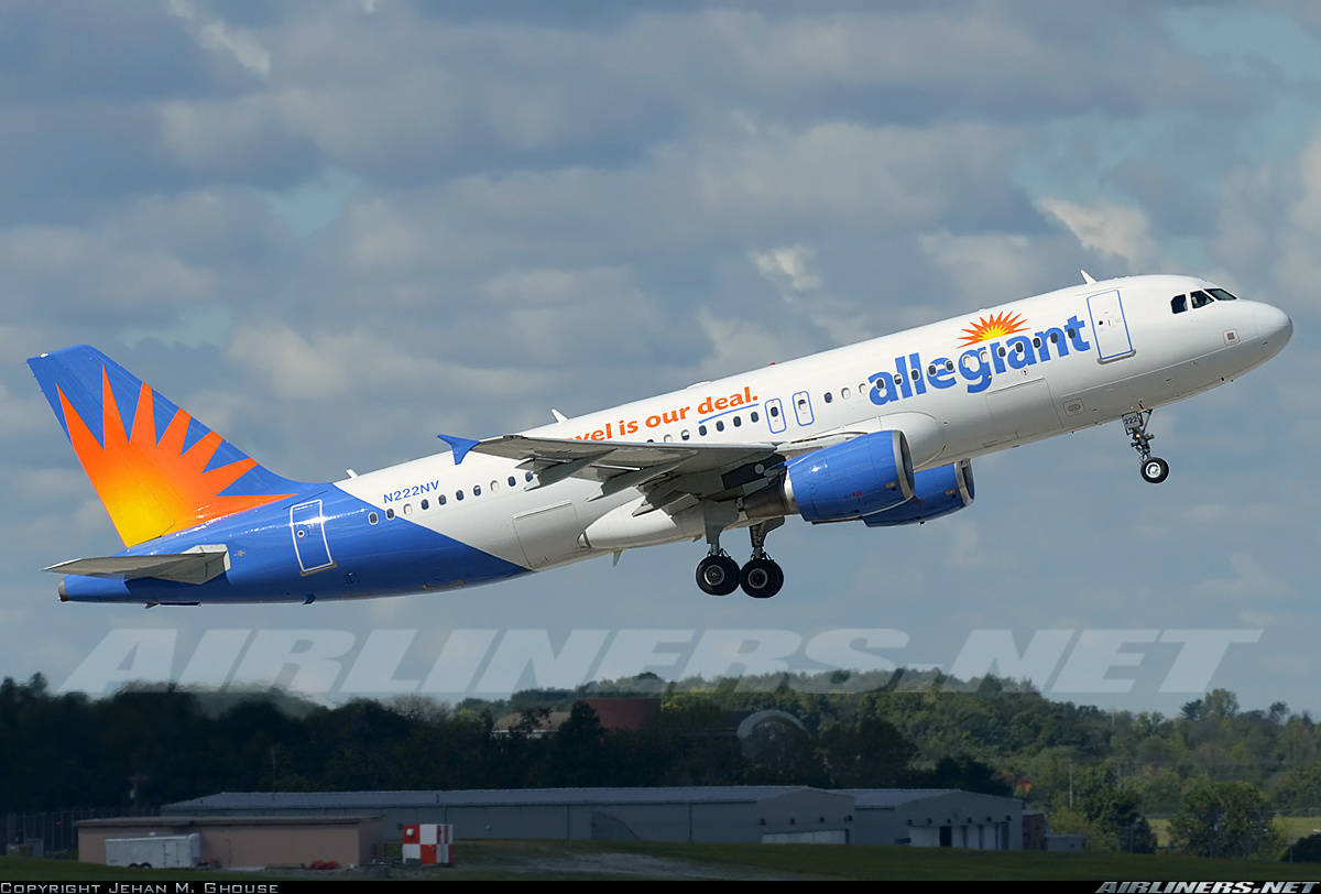 Allegiant A320 diverts because of brake indication