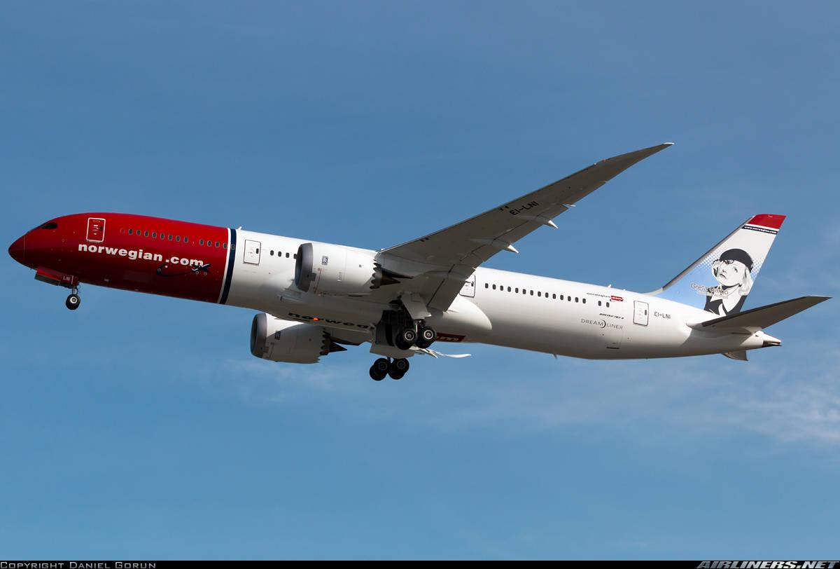 Norwegian Long Haul leasing two more Boeing 787-9s