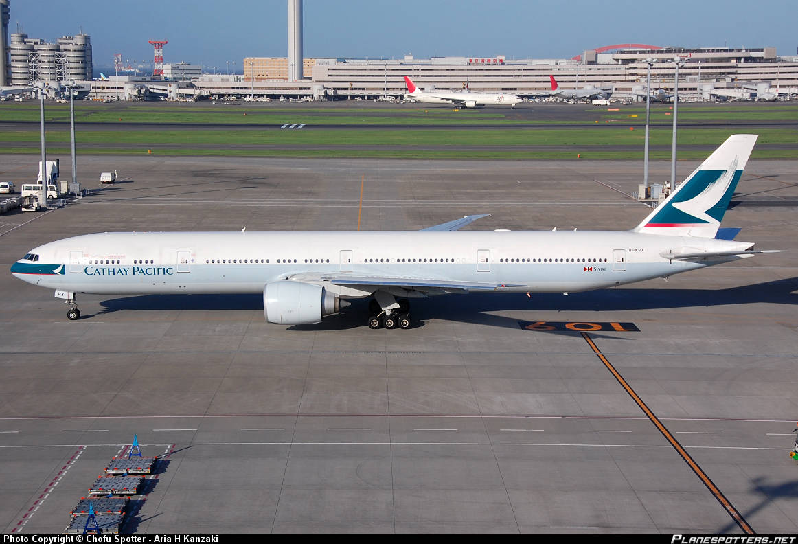 Cathay Pacific 777-367(ER) shuts down engine over Black Sea