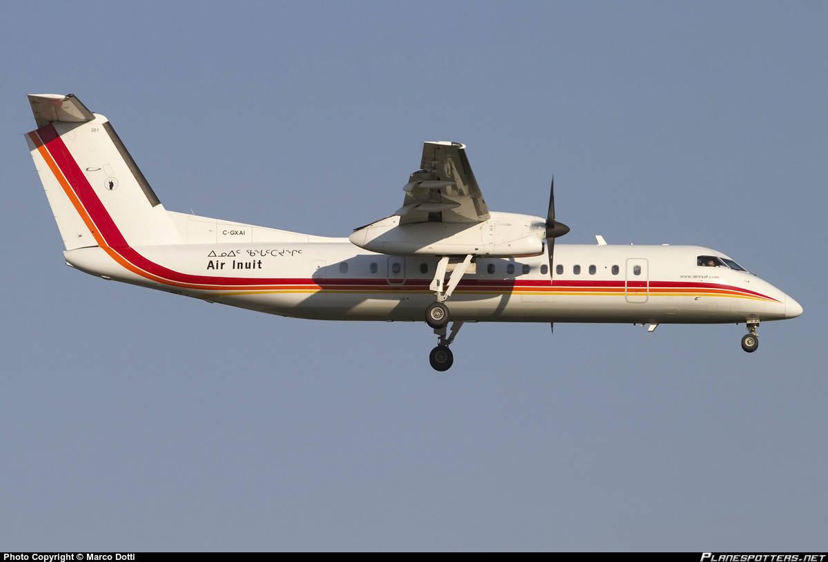 Air Inuit DHC-8-314Q has hydraulic leak