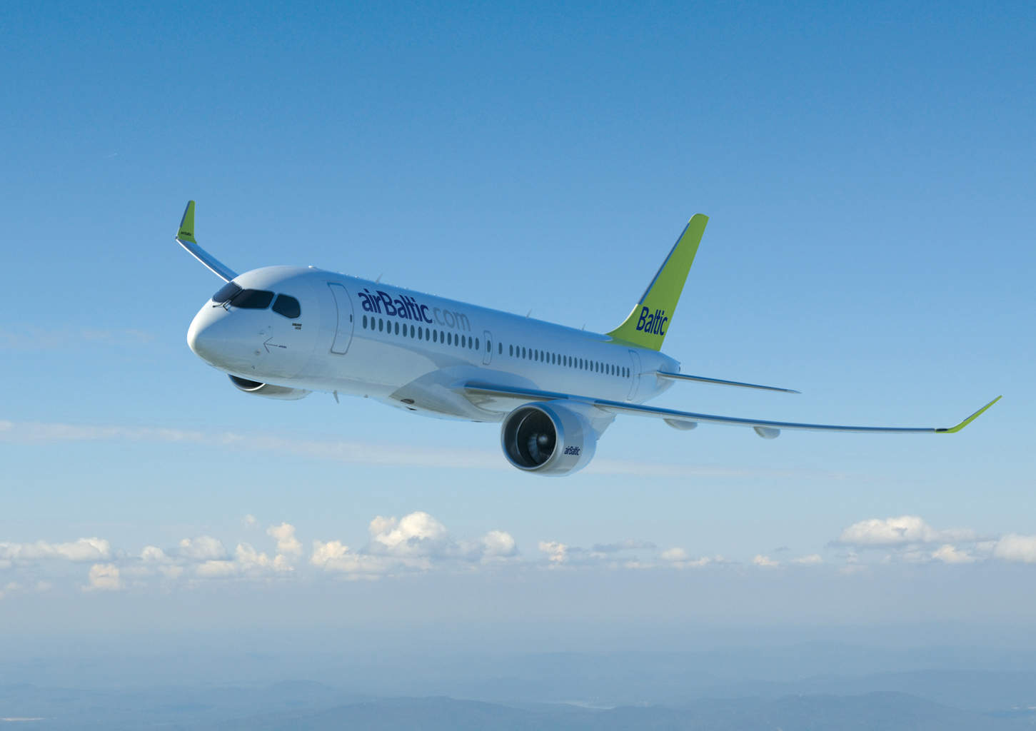 First CS300 (BD-500-1A11) for airBaltic enters FAL