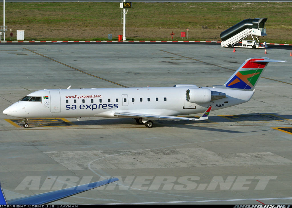 South African Government grounds SA Express