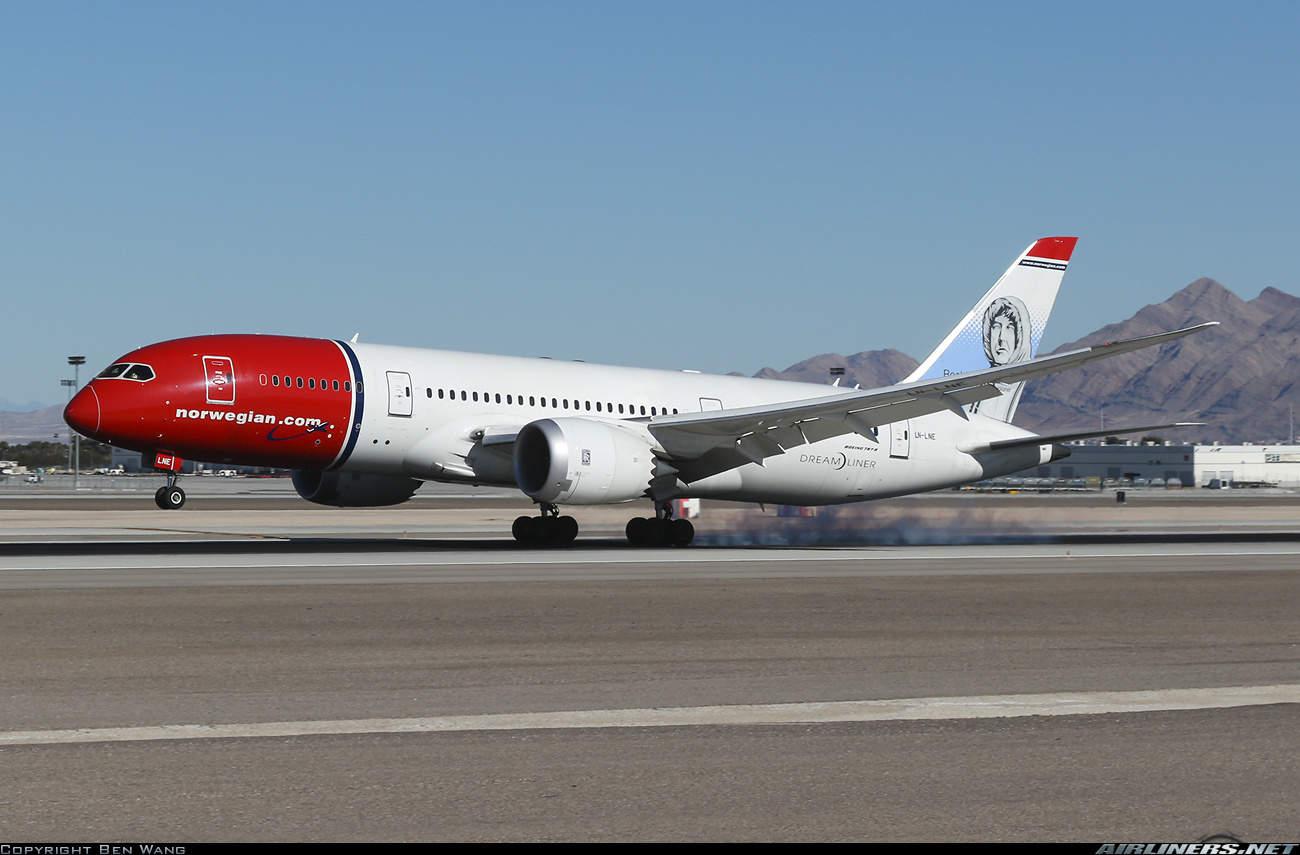 Norwegian Long Haul launches London (Gatwick) – Las Vegas