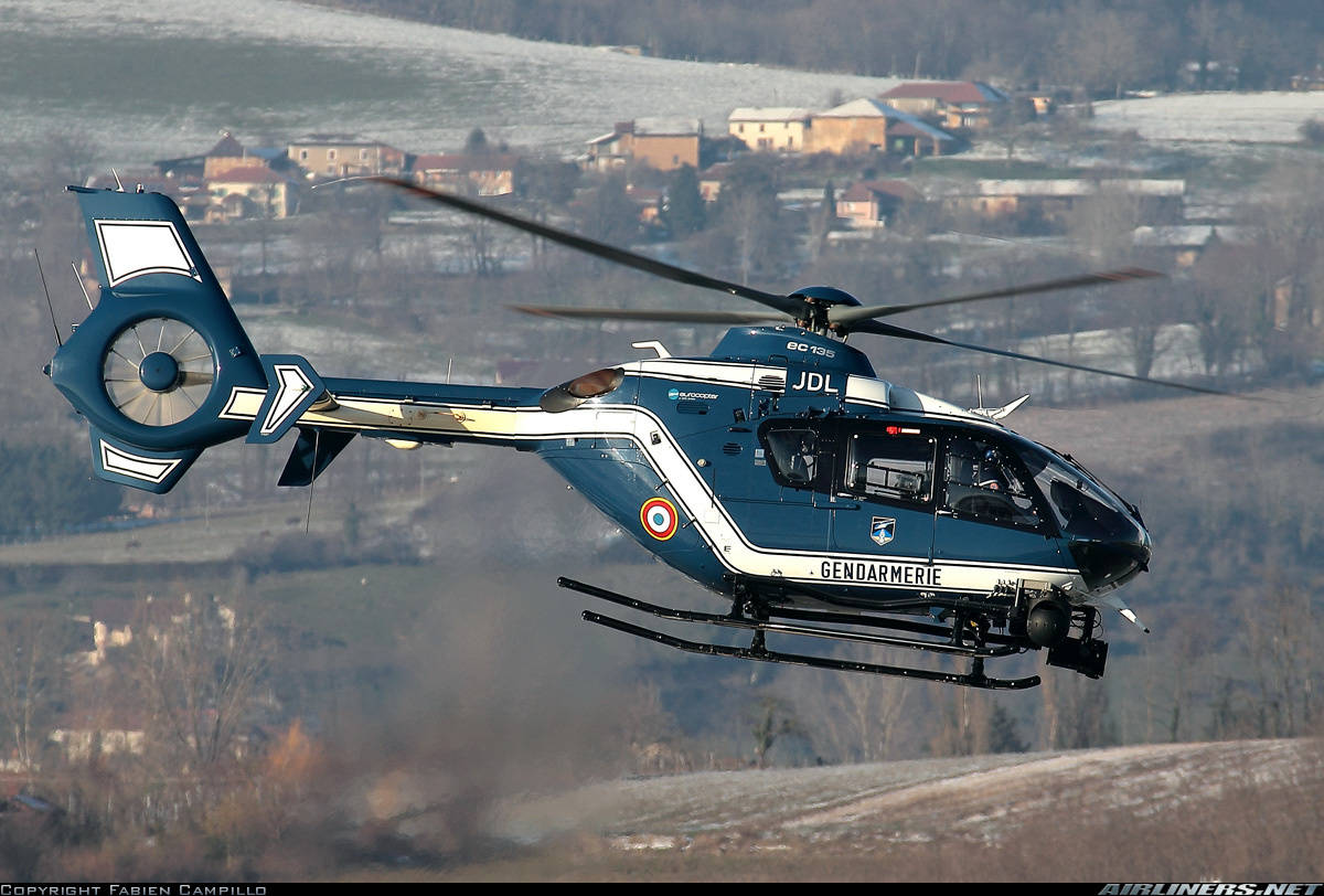 4 die in French Police (Gendarmerie) helicopter crash