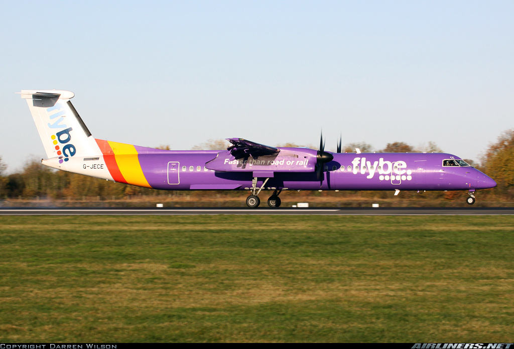 Flybe launches Amsterdam-Dundee flight