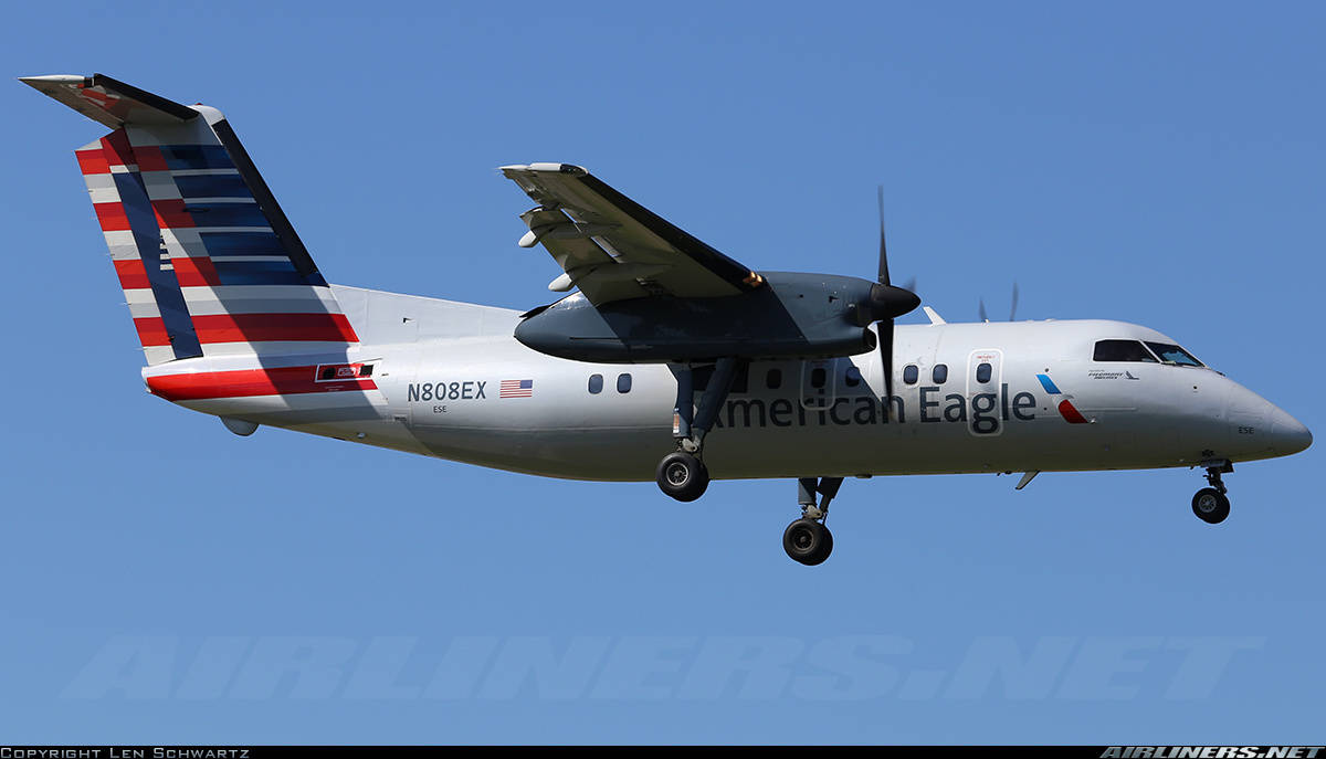 What will replace the Dash 8 at Piedmont Airlines?