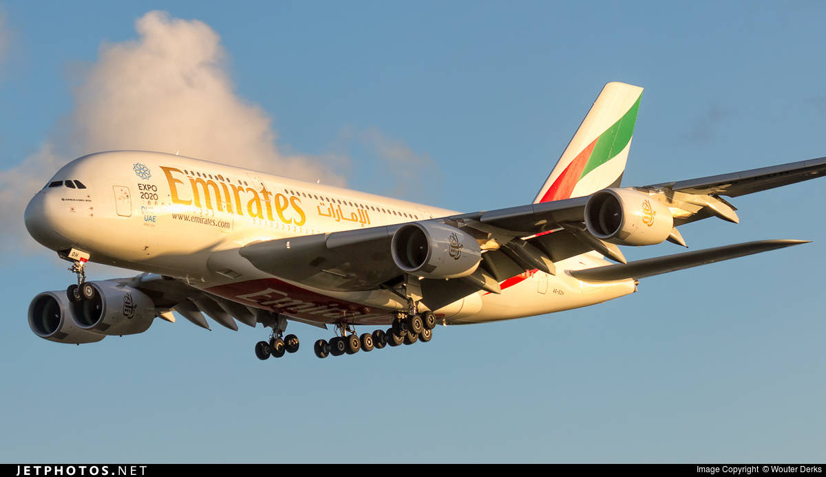 Emirates gets first Trent 900 powered A380