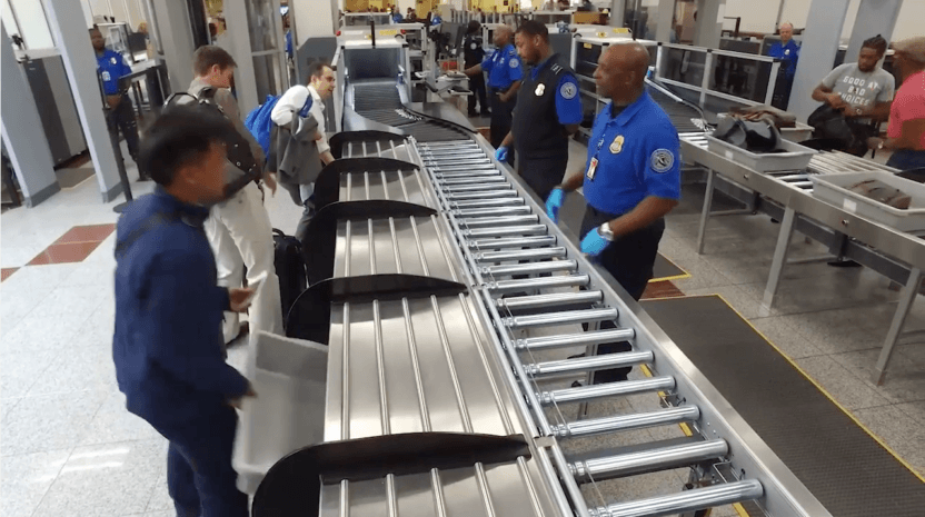 Delta Air Lines designs and pay for more efficient checkpoint