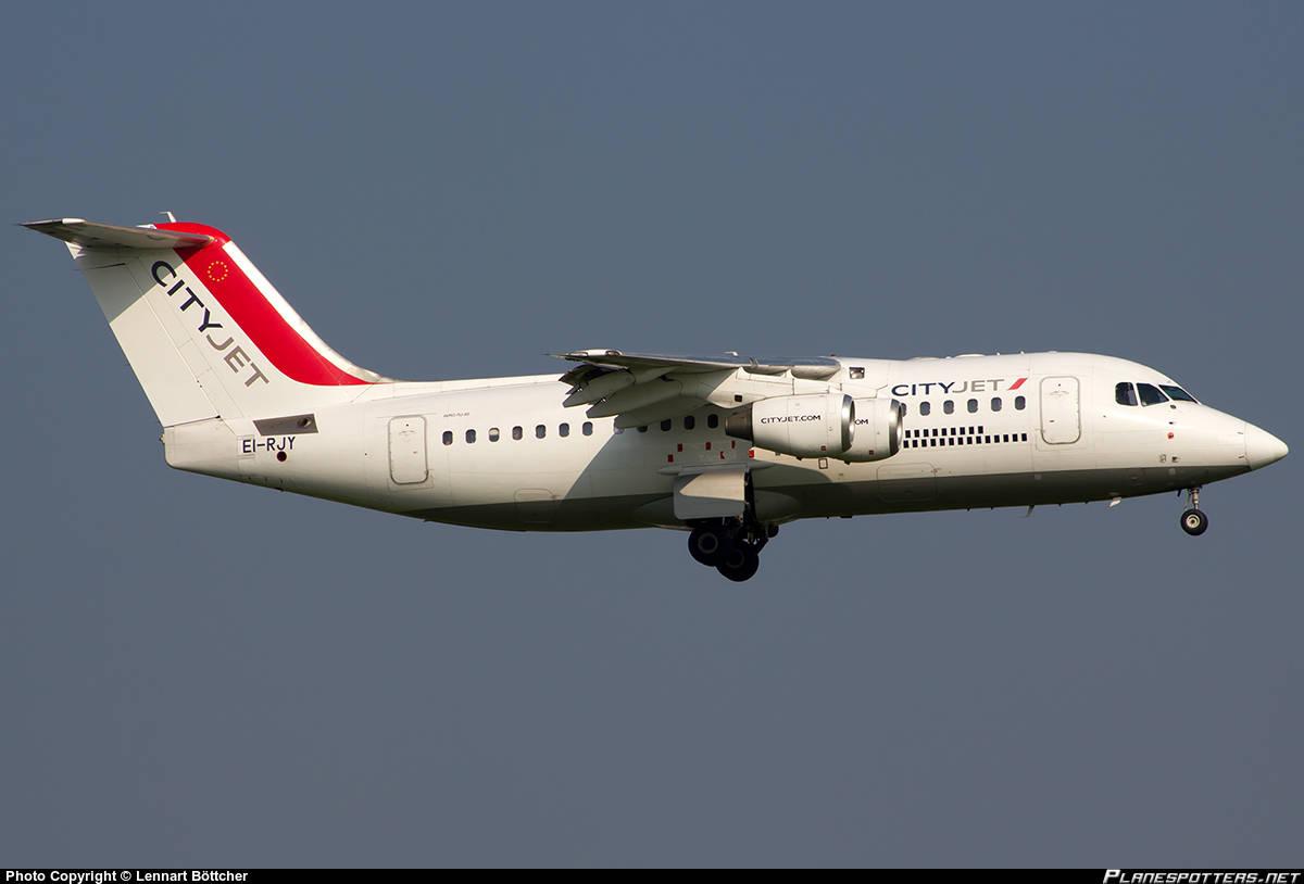 Cityjet flight shut engine down inflight