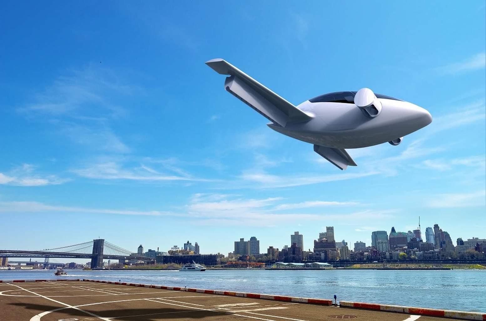 Electric VTOL private jet in the future?