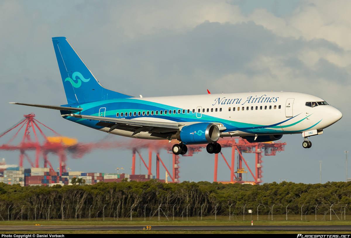 Nauru-Brisbane drops to 3x week on Nauru Airlines