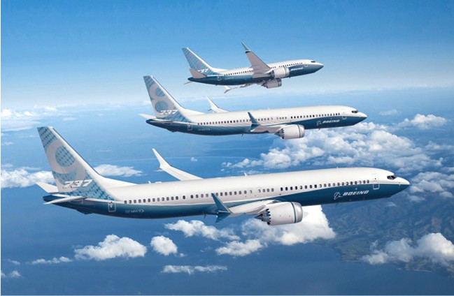 Boeing looking into 737-7MAX and 737-9MAX stretches