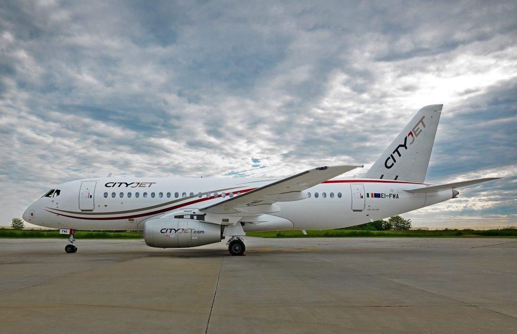 Cityjet receives first Sukhoi Superjet