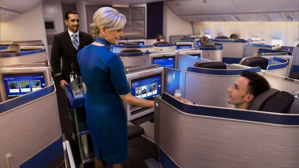 United Airlines reveals new Polaris International Business Class