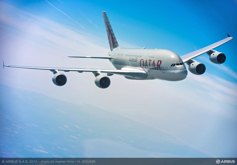 Qatar Airways inaugural flight arrives at Atlanta with no A380 gates available