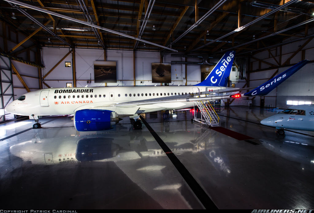 Air Canada to cancel CSeries order?