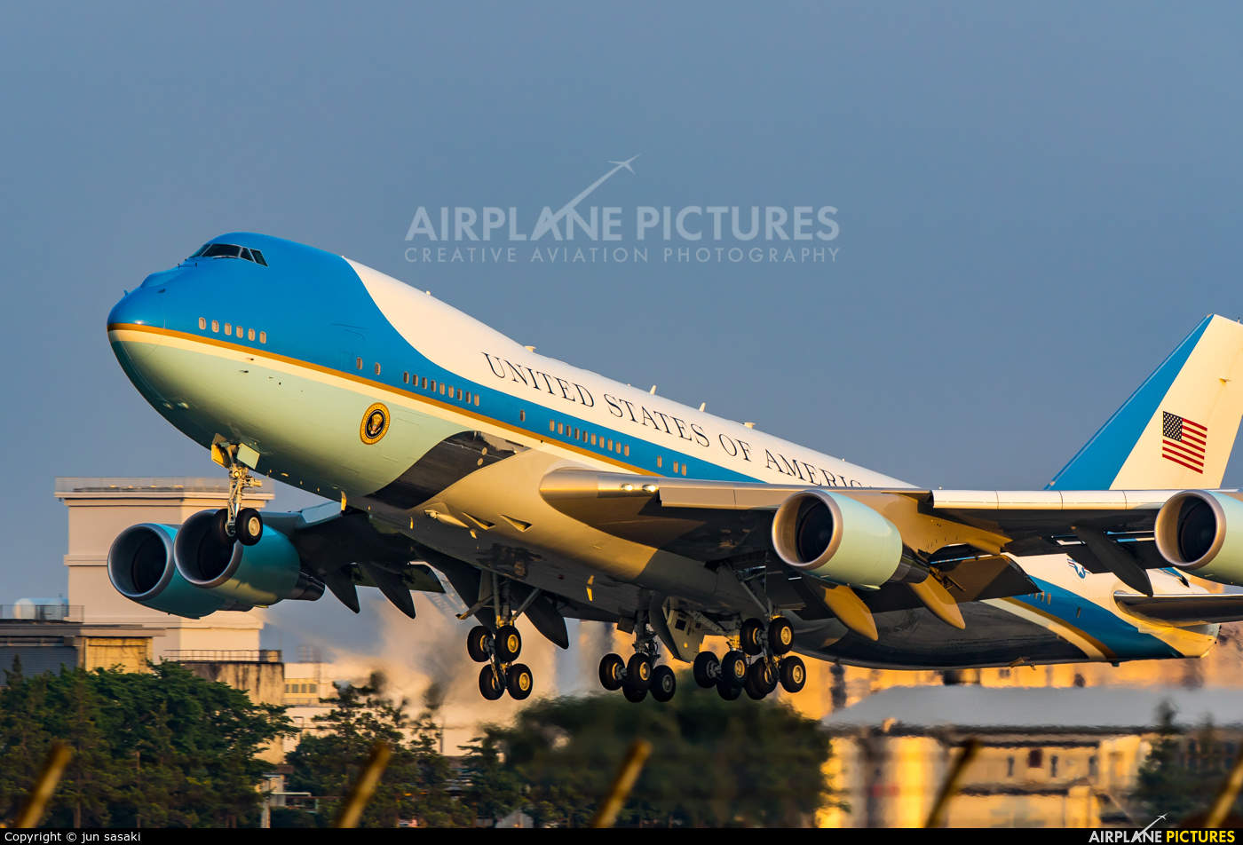 Shooting at Andrews AFB (home of Air Force One)