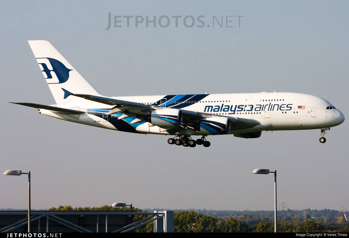Malaysia Airlines to retire Airbus A380 fleet by June 2018