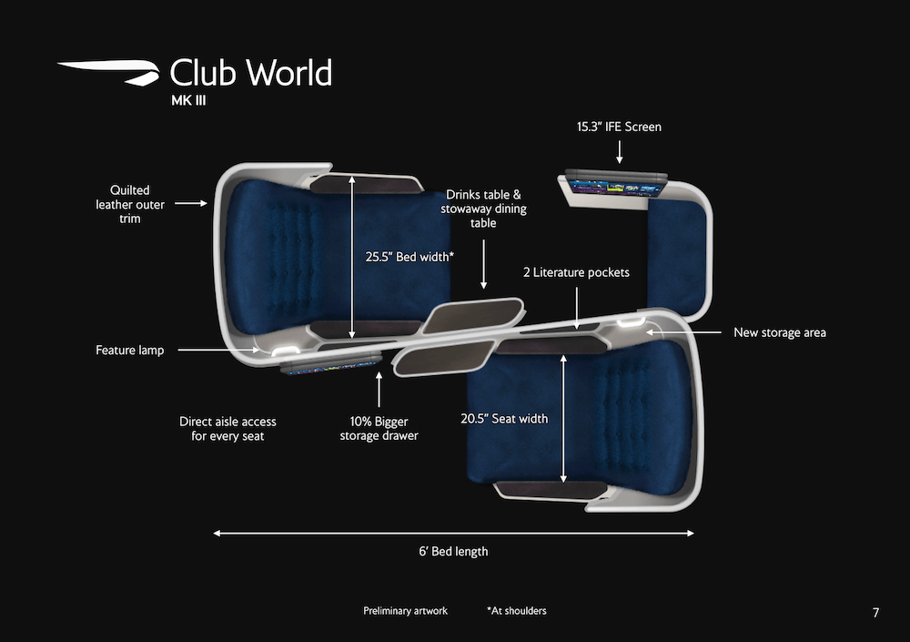 New Mark III Club World seat possibly leaked