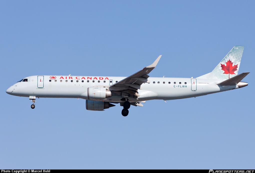 Air Canada E-190 suffers hydraulic leak and failure